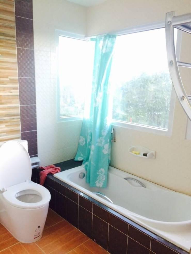 บ้านพักอาศัย 2 ชั้น:   by บริษัท ซายแอค คอนทรัคชั่น จำกัด