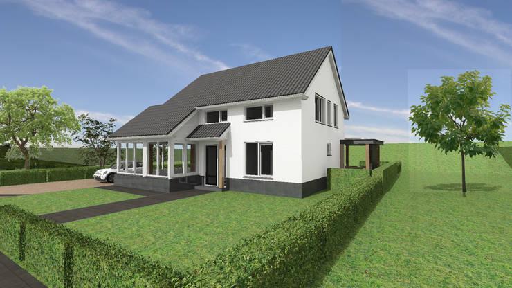 Vergunningsvrije aanbouw te Heukelum:   door Loosbroek architecten bv
