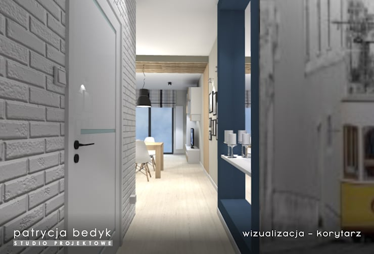 de style  par Patrycja Bedyk Studio Projektowe,