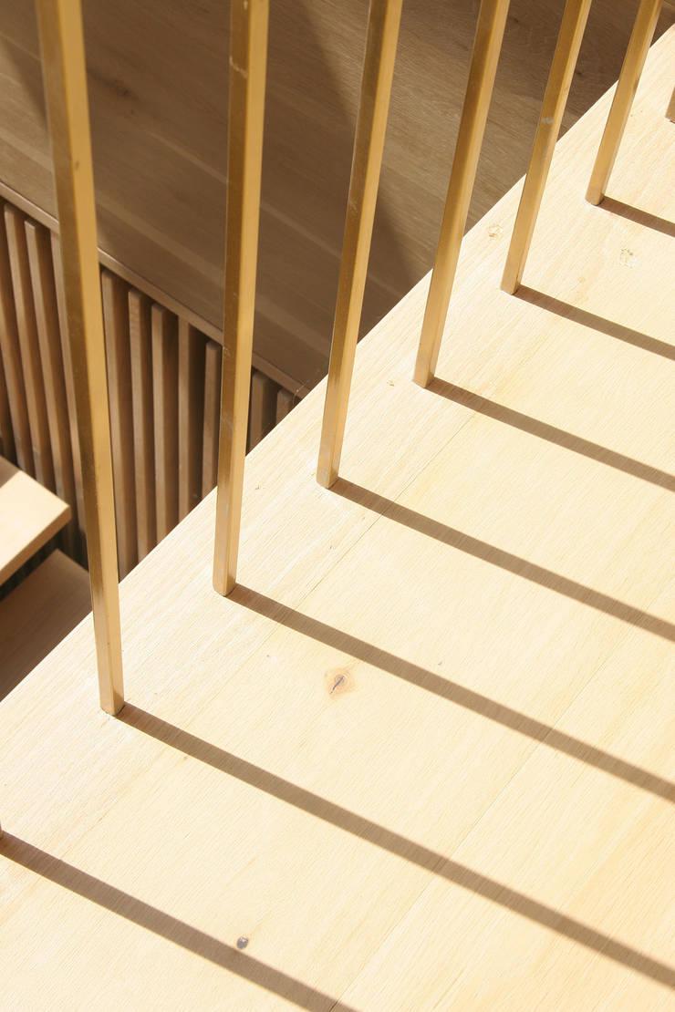 handrail:  Corridor & hallway by AtelierSUN