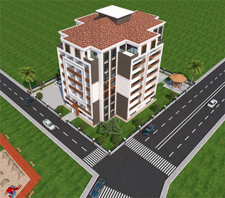Minel Mimarlık Yapı Mühendislik İnşaat Sanayi Ticaret Limited Şirketi – Foreli Evler 6 :  tarz Evler, Modern