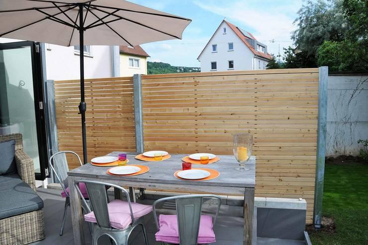 Design Sichtschutz Zaun By Stahlzart Homify