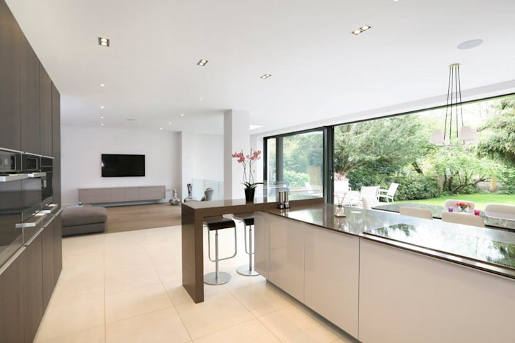 New Build 5 Bedroom House in Wimbledon :   by Andrew Harper Architects