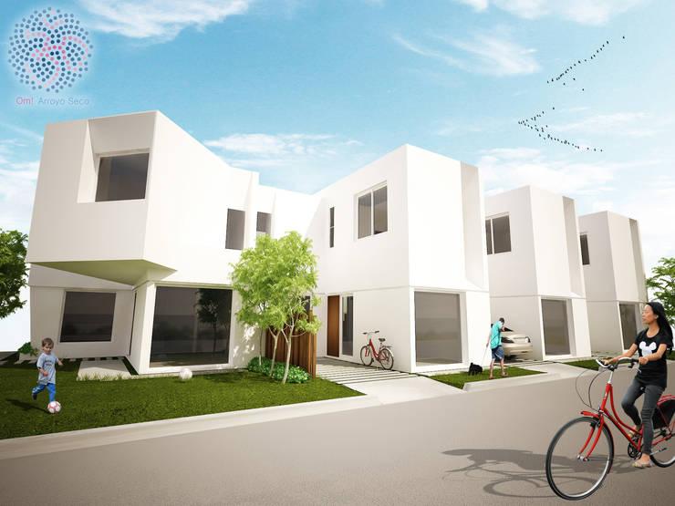 Esquina sudoeste: Casas de estilo  por OAC srl,