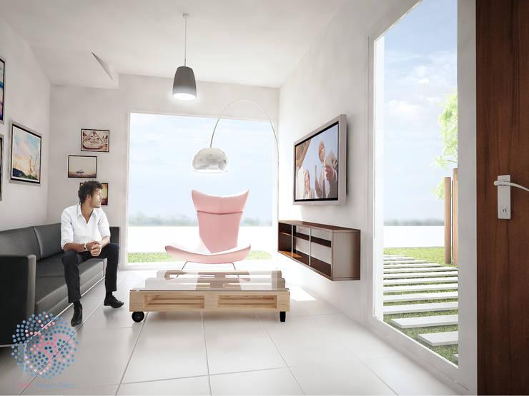 Interior - Living: Livings de estilo  por OAC srl,