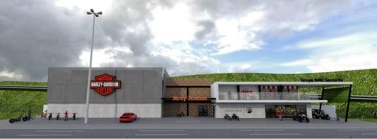 H-D 03: Casas de estilo  por Taro Arquitectos