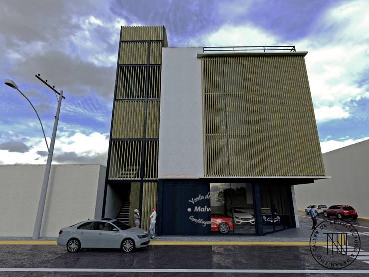 Cons-01 Estudios y despachos modernos de Taro Arquitectos Moderno