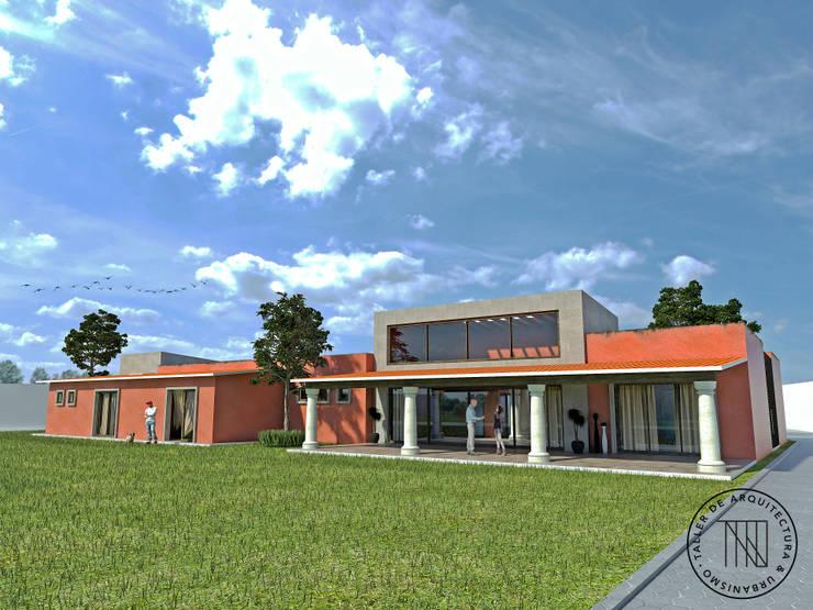 Casa EVC: Casas de estilo  por Taro Arquitectos