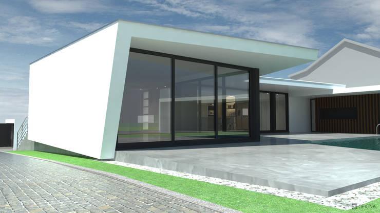 Casa Fonte Fria: Casas  por OFICINA - COLECTIVO DE IDEIAS, LDA