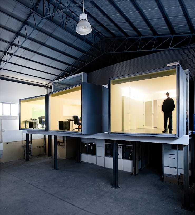 Escritórios em Cascais: Escritórios  por joão aires pereira | arquitecto