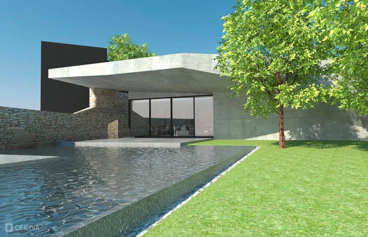 Casa Sever do Vouga: Casas  por OFICINA - COLECTIVO DE IDEIAS, LDA
