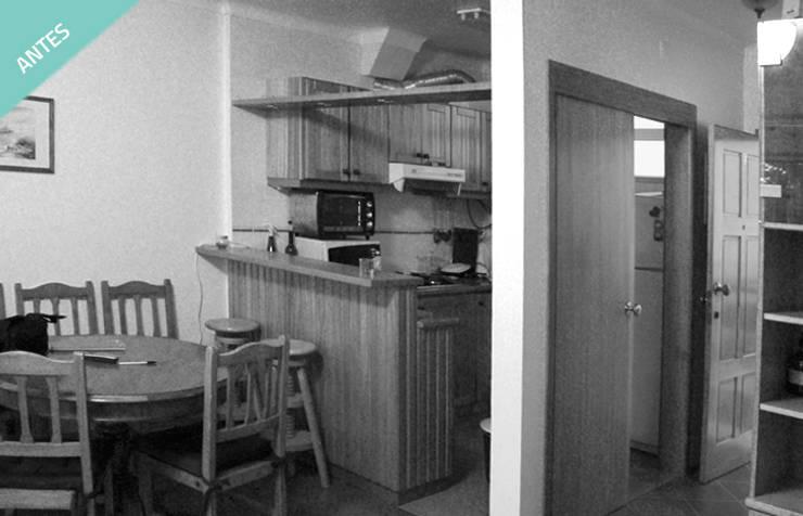 Apartamento T0 – São Pedro de Moel:   por OFICINA - COLECTIVO DE IDEIAS, LDA