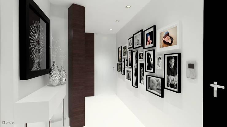 Corridor & hallway by OFICINA - COLECTIVO DE IDEIAS, LDA, Modern