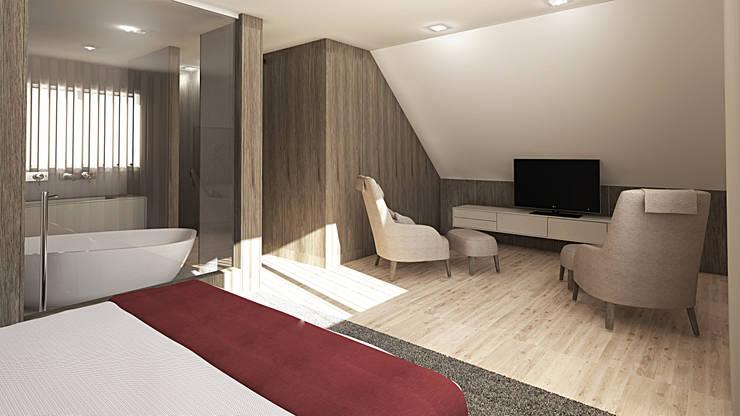 Inside Home Unipessoal LDA.が手掛けた寝室