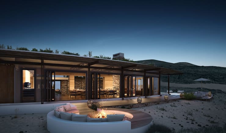 Namibia Loge Upgrade:  Hotels by Visualize 3D, Rustic