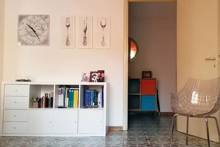 Appartamento a Como: Ingresso & Corridoio in stile  di Studio di Architettura Luigi Stracquadaini