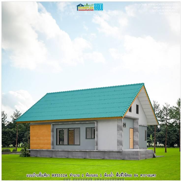 แบบบ้านชั้นเดียว HPS112A:   by แบบแปลนบ้านสำเร็จรูป