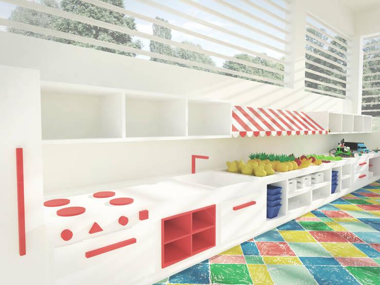 Brinquedoteca: Escolas  por Andressa Cobucci Estúdio