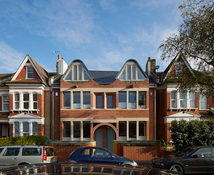 London Brownstones:  Houses by Knox Bhavan Architects