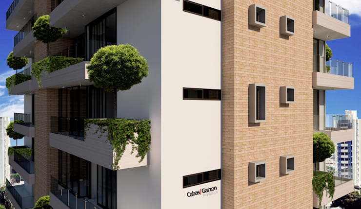 SINCELEJO – 2015: Casas de estilo moderno por Cabas/Garzon Arquitectos