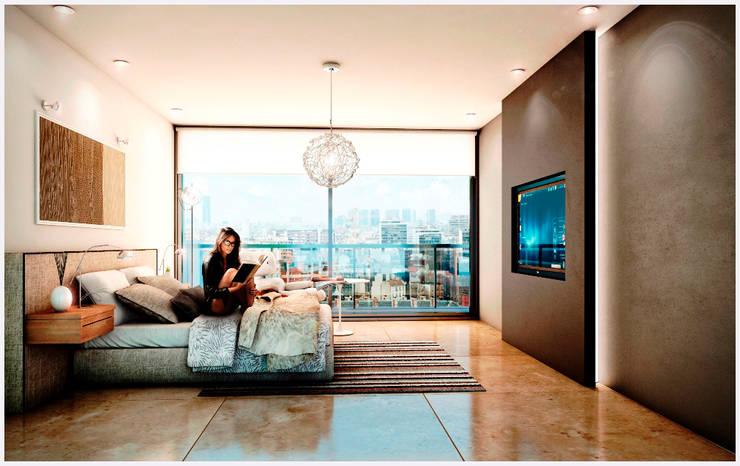 VITRA 57 – 02-06-2015:  de estilo  por Cabas/Garzon Arquitectos