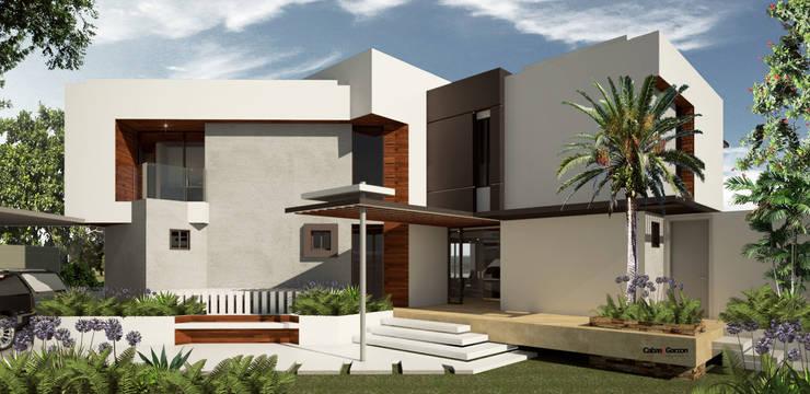 VIVIENDA CAUJARAL -  D S:  de estilo  por Cabas/Garzon Arquitectos, Moderno