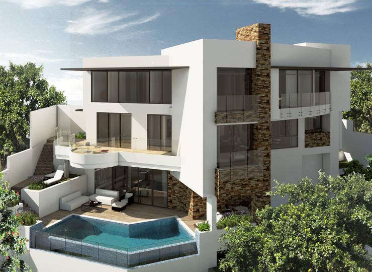 VIVIENDA CAUJARAL –  D S:  de estilo  por Cabas/Garzon Arquitectos, Moderno
