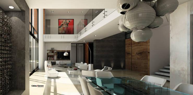VIVIENDA CAUJARAL – N F & M A:  de estilo  por Cabas/Garzon Arquitectos