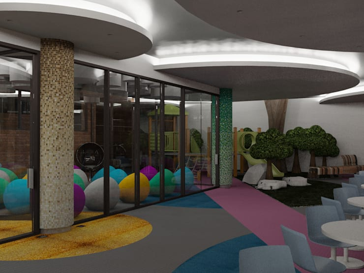 ADORACION IGLESIA CRISTIANA – 2016:  de estilo  por Cabas/Garzon Arquitectos