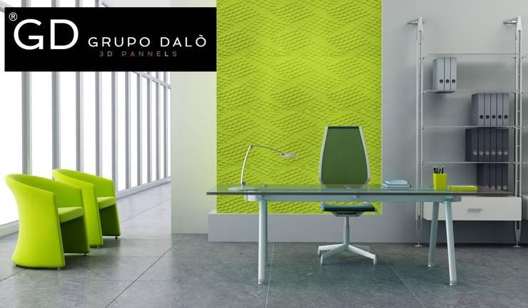 PANEL DECORATIVO : Paredes y pisos de estilo  por GRUPO DALÒ    PANELES DECORATIVOS EN 3D