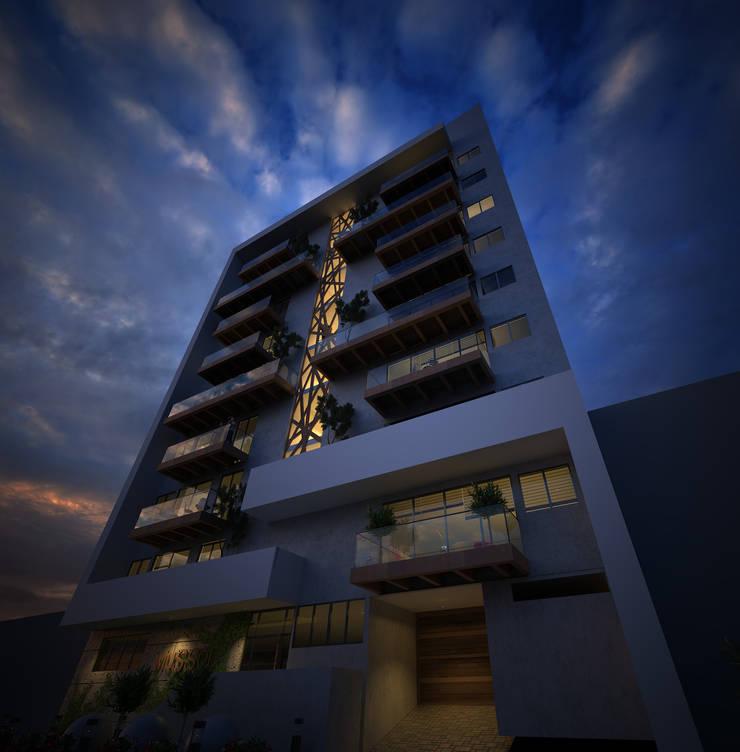 Mussol: Casas de estilo  por O11ceStudio,
