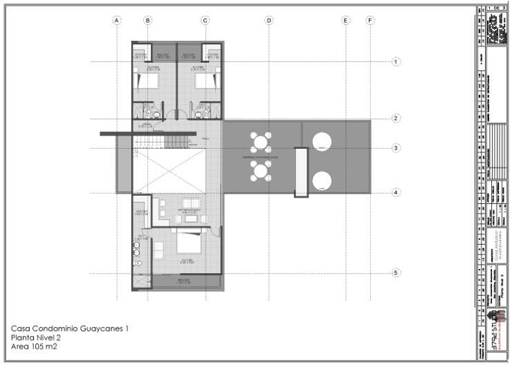 Casa San Jeronimo Casas modernas de O11ceStudio Moderno