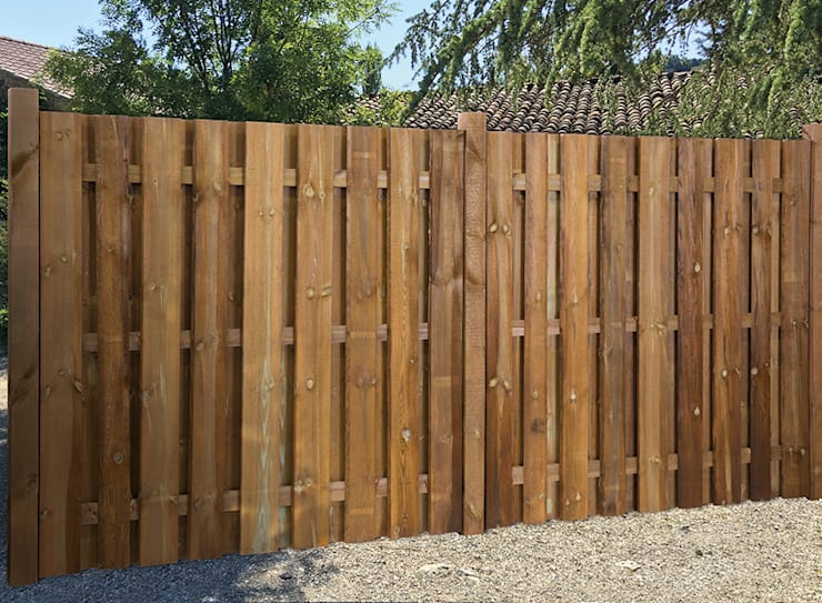 Jardins rústicos por Braun & Würfele - Holz im Garten