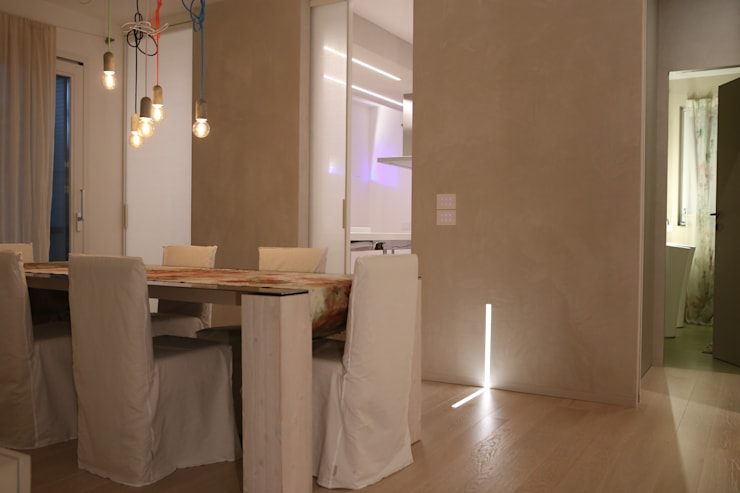 minimalistic Dining room by RO|a_