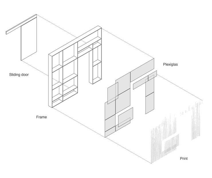 Xtra Room:  Slaapkamer door Atelier ARI