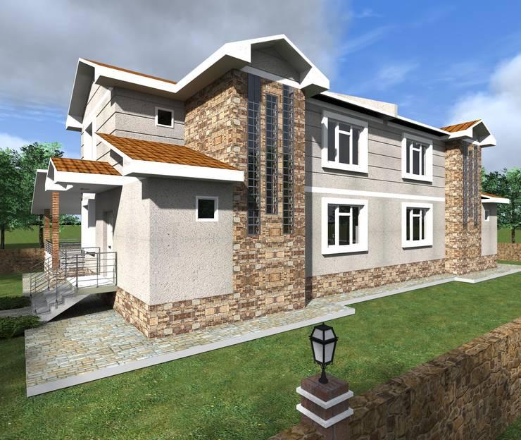 alfa mimarlık – Can YAPI:  tarz Evler, Modern