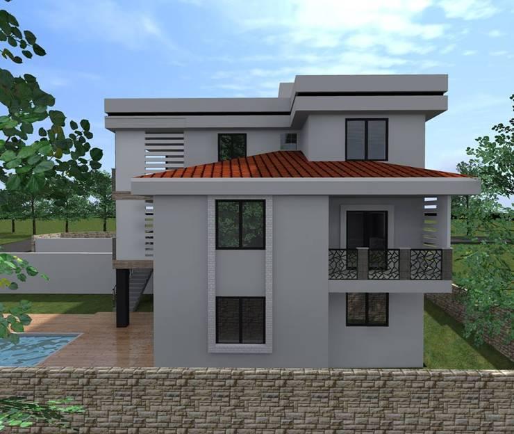 alfa mimarlık – Aydın KORKMAZ:  tarz Evler, Modern