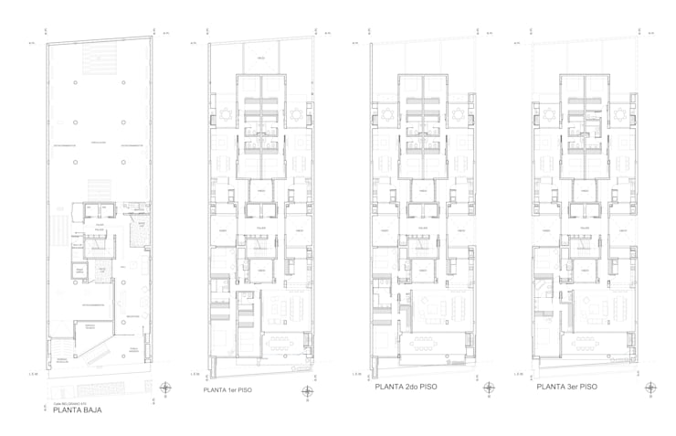 Houses by Mauricio Morra Arquitectos, Modern