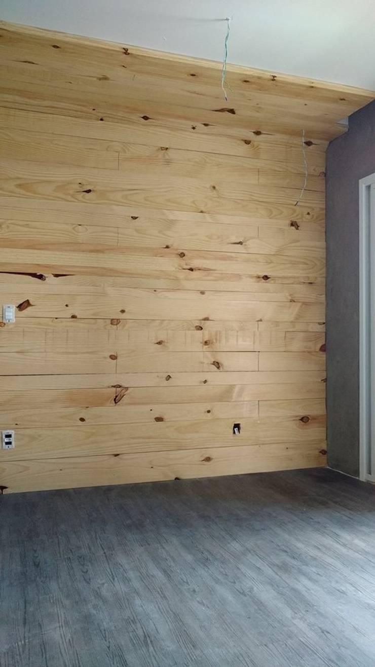 rustic  by Marcenaria gmt, Rustic Wood Wood effect