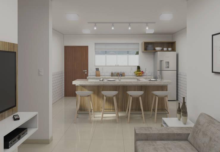 Kitchen by Filipe Castro Arquitetura | Design