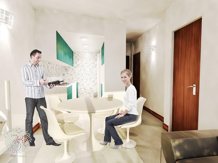 Interior - Living comedor:  de estilo  por OAC srl,