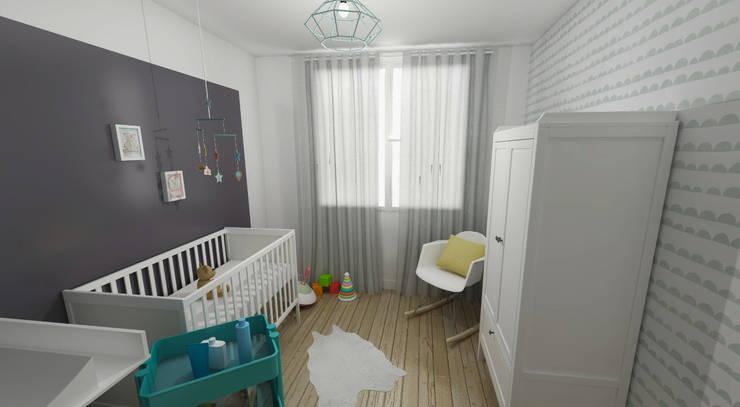 غرفة الاطفال تنفيذ ML architecture d'intérieur et décoration