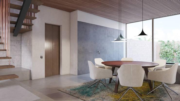 Dining room by destilat Design Studio GmbH