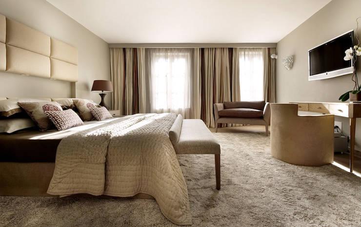 غرفة نوم تنفيذ MN Design