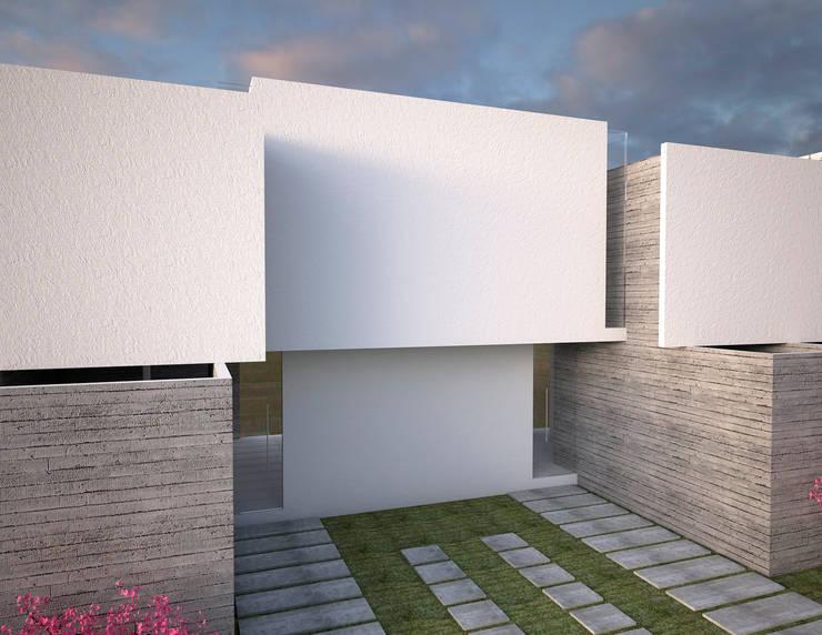 vivienda de interés social : Casas de estilo  por Element+1 taller de arquitectura