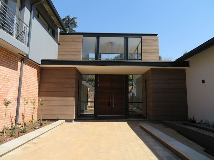 Houghton House:  Houses by Urban Habitat Architects, Modern