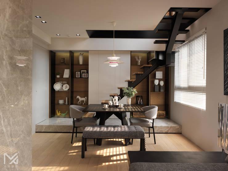 純粹、光線:  餐廳 by 沐朋設計