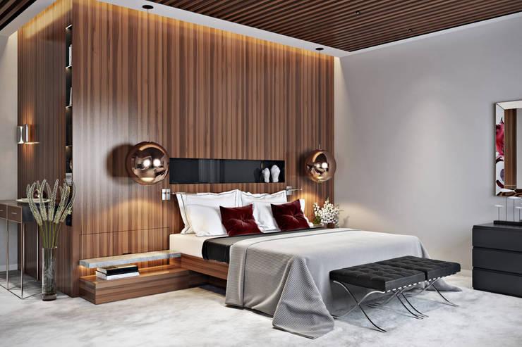 غرفة نوم تنفيذ ArchiCGI