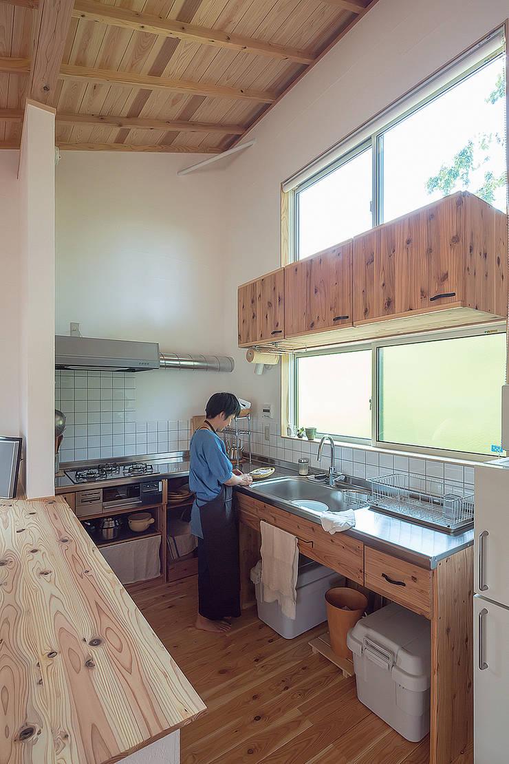 Nhà bếp theo 株式会社 建築工房零, Chiết trung