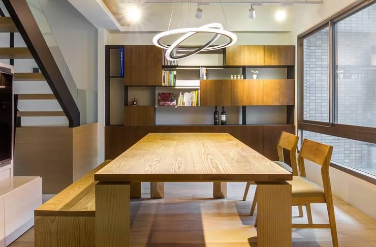 內湖-公園錄:  餐廳 by 唯創空間設計公司
